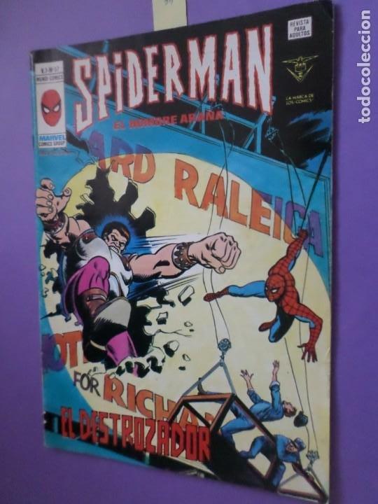 PETER PARKER SPIDERMAN EL HOMBRE ARAÑA. MUNDI COMICS. VERTICE. V. 3. Nº 57 - EL DESTROZADOR (Tebeos y Comics - Vértice - V.3)