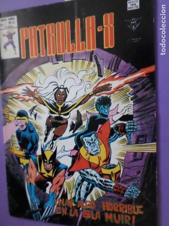 MARVEL -PATRULLA -X VOL 3 N.º 35 - HAY ALGO HORRIBLE EN LA ISLA MUIR / EDICIONES VÉRTICE / MUNDI (Tebeos y Comics - Vértice - V.3)