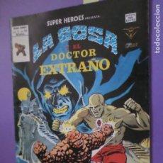 Cómics: MARVEL - SUPER HEROES PRESENTA. VOL 2 N.º 116 - LA COSA Y EL DOCTOR EXTRAÑO / EDICIONES VÉRTICE /. Lote 206360367