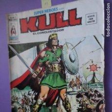Cómics: MARVEL - SUPER HEROES PRESENTA. VOL 2 N.º 20 - KULL EL CONQUISTADOR / EDICIONES VÉRTICE / MUNDI CO. Lote 206360382