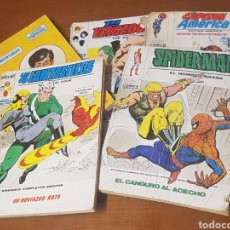 Cómics: LOTE DE 6 COMICS EDICIONES INTERNACIONALES MARVEL, VERTICE, COMICS GROUP, SPIDERMAN, LOS VENGADORES. Lote 206456061