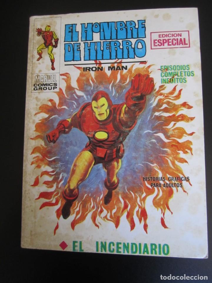 IRON MAN (1969, VERTICE) -EL HOMBRE DE HIERRO- 11 · 1969 · EL INCENDIARIO (Tebeos y Comics - Vértice - Hombre de Hierro)