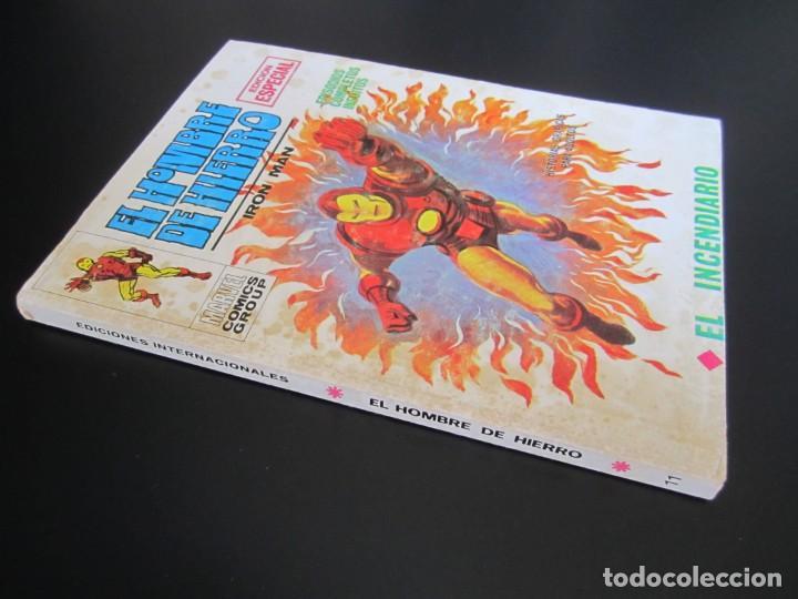 Cómics: IRON MAN (1969, VERTICE) -EL HOMBRE DE HIERRO- 11 · 1969 · EL INCENDIARIO - Foto 3 - 206532107