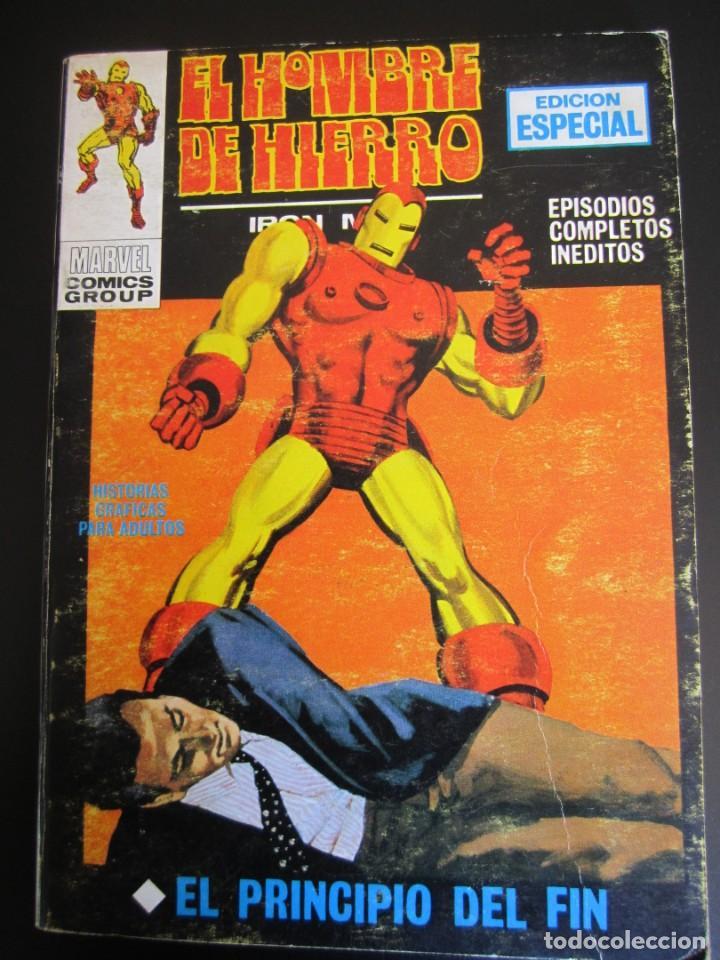 IRON MAN (1969, VERTICE) -EL HOMBRE DE HIERRO- 7 · 1969 · EL PRINCIPIO DEL FIN (Tebeos y Comics - Vértice - Hombre de Hierro)