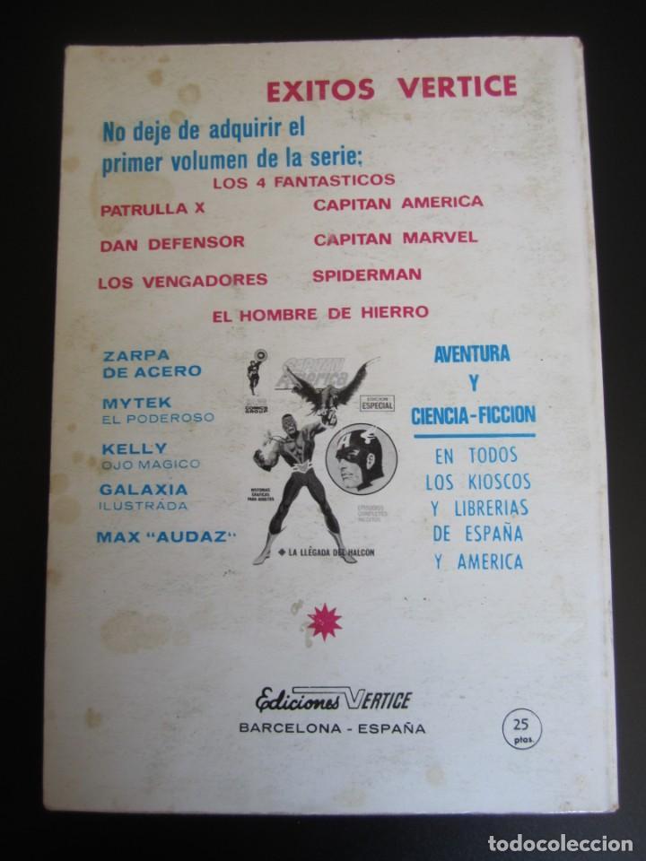 Cómics: IRON MAN (1969, VERTICE) -EL HOMBRE DE HIERRO- 7 · 1969 · EL PRINCIPIO DEL FIN - Foto 2 - 206534788