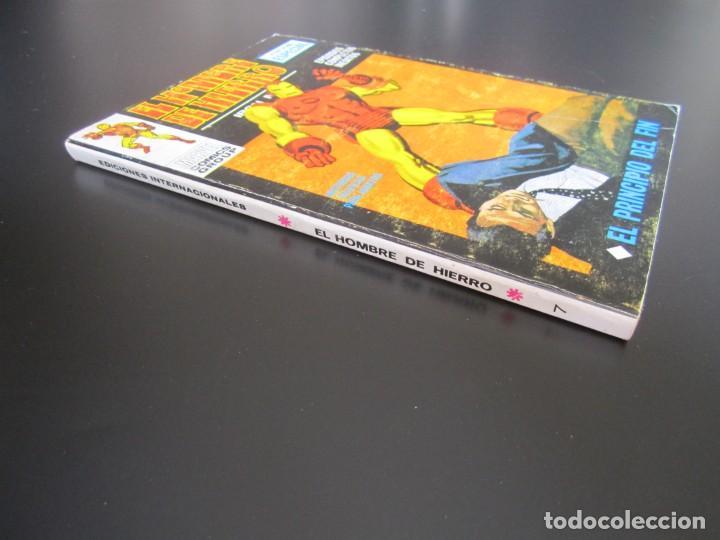 Cómics: IRON MAN (1969, VERTICE) -EL HOMBRE DE HIERRO- 7 · 1969 · EL PRINCIPIO DEL FIN - Foto 3 - 206534788