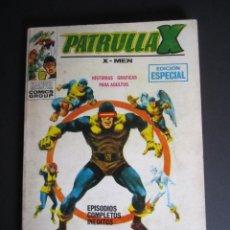 Cómics: PATRULLA X (1969, VERTICE) 18 · III-1971 · AZOROSO FINAL. Lote 206536857