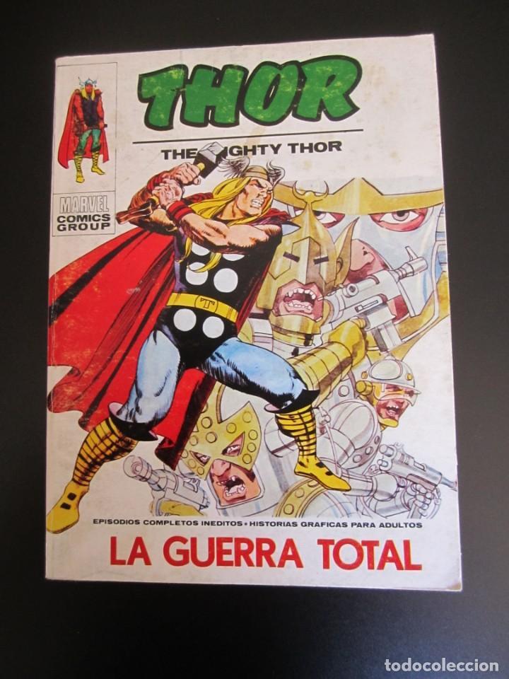 THOR (1970, VERTICE) 27 · 1973 · LA GUERRA TOTAL (Tebeos y Comics - Vértice - Thor)