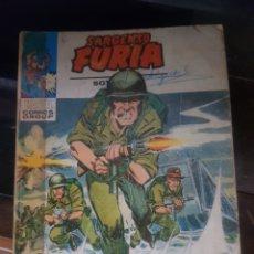 Cómics: COMIC SARGENTO FURIA. MARVEL COMICS GROUP. NÚMERO 25. INVASIÓN. EDICIONES VÉRTICE.1974. 126 PÁGINAS.. Lote 206602580