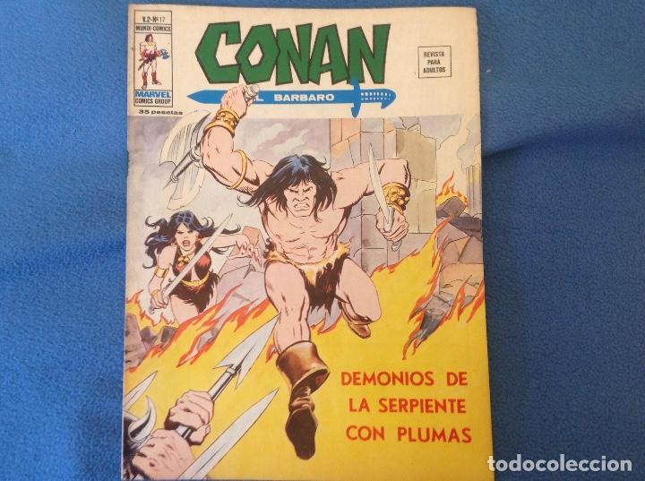 VOLUMEN DOS NUMERO 17 (Tebeos y Comics - Vértice - Conan)