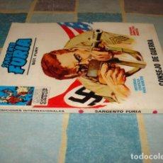 Cómics: SARGENTO FURIA 4, 1972, VERTICE, BUEN ESTADO. COLECCIÓN A.T.. Lote 206764743