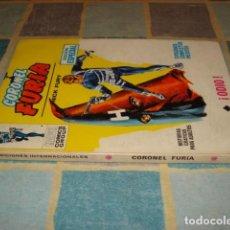 Comics : CORONEL FURIA 4, 1969, VERTICE, BUEN ESTADO. COLECCIÓN A.T.. Lote 206765401