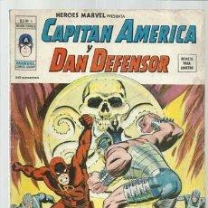 Cómics: HEROES MARVEL VOL. 2 5: CAPITÁN AMÉRICA Y DAN DEFENSOR, 1975, VERTICE. COLECCIÓN A.T.. Lote 206771005