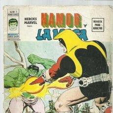Cómics: HEROES MARVEL VOL. 2 3: NAMOR Y LA MASA, 1975, VERTICE, USADO. COLECCIÓN A.T.. Lote 206771343