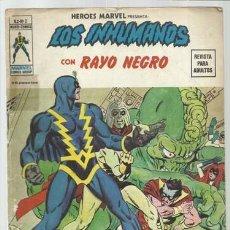 Cómics: HEROES MARVEL VOL. 2 2: LOS INHUMANOS, 1975, VERTICE. COLECCIÓN A.T.. Lote 206771651