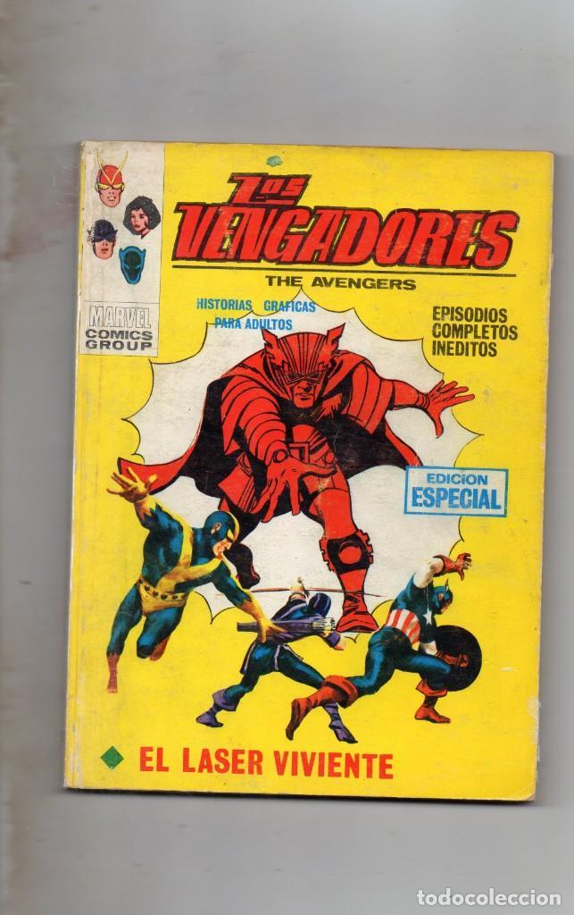 COMIC VERTICE 1970 LOS VENGADORES VOL1 Nº 15 ( BUEN ESTADO ) (Tebeos y Comics - Vértice - Vengadores)