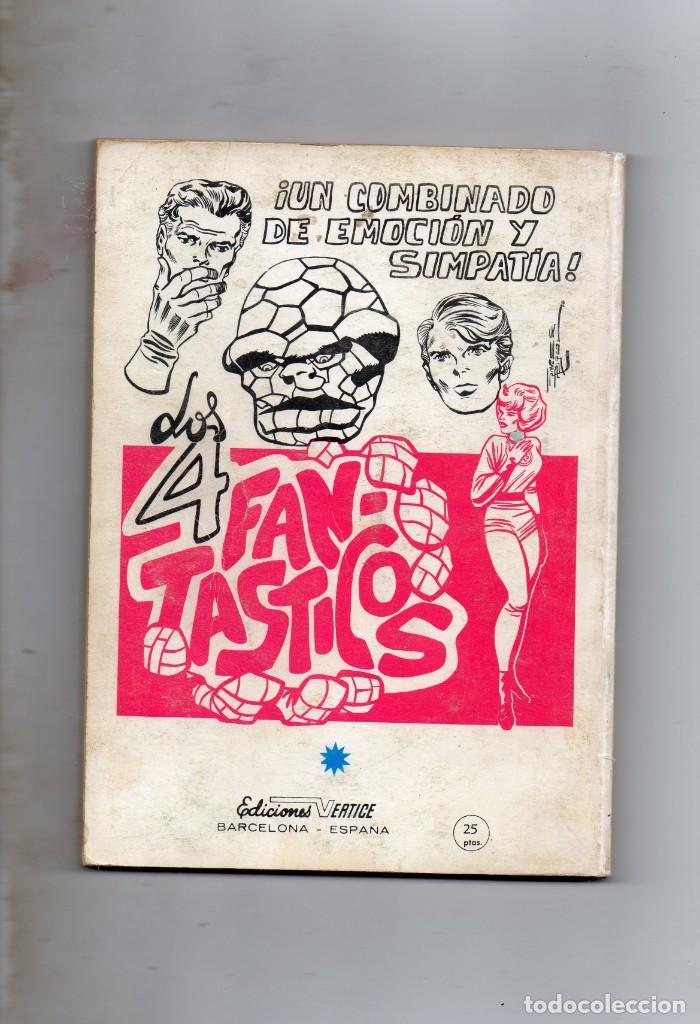 Cómics: COMIC VERTICE 1970 LOS VENGADORES VOL1 Nº 15 ( BUEN ESTADO ) - Foto 2 - 206788671