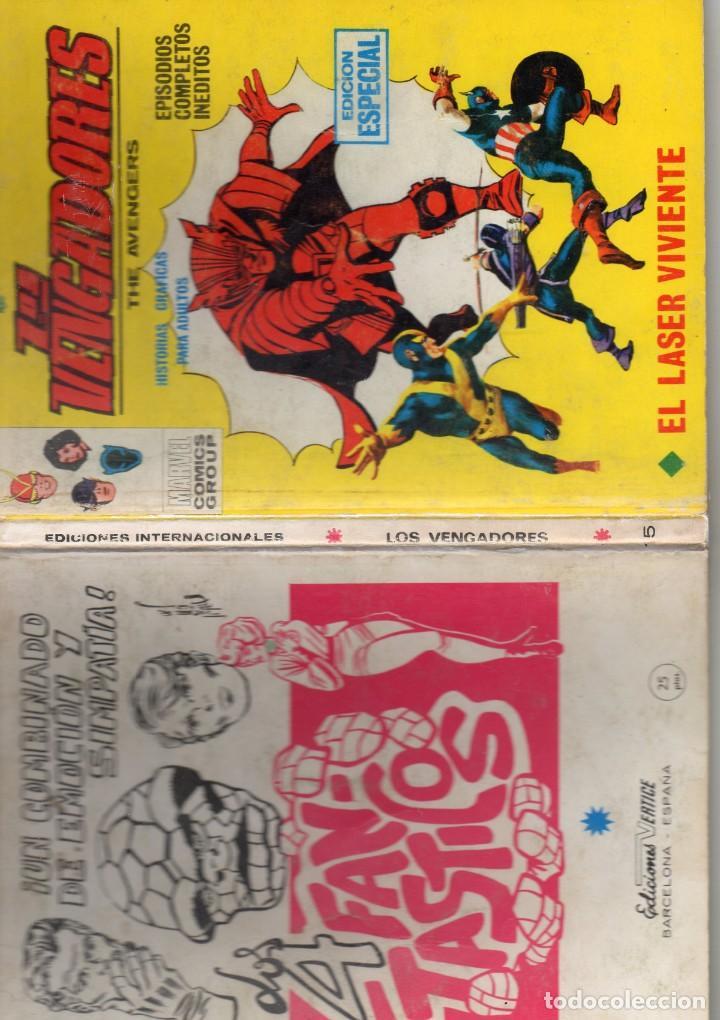 Cómics: COMIC VERTICE 1970 LOS VENGADORES VOL1 Nº 15 ( BUEN ESTADO ) - Foto 3 - 206788671