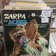 Cómics: VERTICE GRAPA ZARPA DE ACERO NUMERO 27 BUEN ESTADO. Lote 206902738