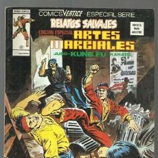 Cómics: RELATOS SALVAJES, ARTES MARCIALES 37, 1976, VERTICE, BUEN ESTADO. COLECIÓN A.T.. Lote 206975491