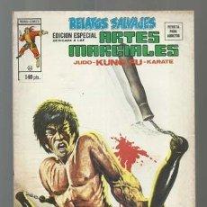 Cómics: RELATOS SALVAJES, ARTES MARCIALES 24, 1976, VERTICE, BUEN ESTADO. COLECCIÓN A.T.. Lote 206975966