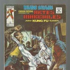 Comics: RELATOS SALVAJES, ARTES MARCIALES 23, 1976, VERTICE, BUEN ESTADO. COLECCIÓN A.T.. Lote 206976101