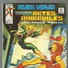 Cómics: RELATOS SALVAJES, ARTES MARCIALES 21, 1976, VERTICE, BUEN ESTADO. COLECCIÓN A.T.. Lote 206976812
