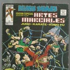 Cómics: RELATOS SALVAJES, ARTES MARCIALES 15, 1976, VERTICE, BUEN ESTADO. COLECCIÓN A.T.. Lote 206977110