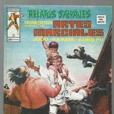 Cómics: RELATOS SALVAJES, ARTES MARCIALES 10, 1975, VERTICE, BUEN ESTADO. COLECCIÓN A.T.. Lote 206977391