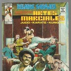 Cómics: RELATOS SALVAJES, ARTES MARCIALES 8, 1975, VERTICE, BUEN ESTADO. COLECCIÓN A.T.. Lote 206977697