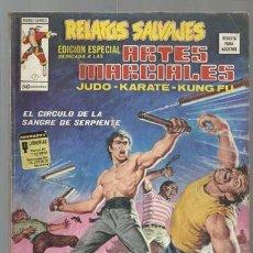 Cómics: RELATOS SALVAJES, ARTES MARCIALES 7, 1975, VERTICE. COLECCIÓN A.T.. Lote 206977868