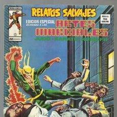 Cómics: RELATOS SALVAJES, ARTES MARCIALES 6, 1975, VERTICE, BUEN ESTADO. COLECCIÓN A.T.. Lote 206977966