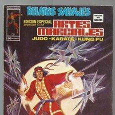 Cómics: RELATOS SALVAJES, ARTES MARCIALES 1, 1975, VERTICE, BUEN ESTADO. COLECCIÓN A.T.. Lote 206979241