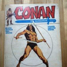 Cómics: CONAN N°1, LA LLEGADA DE CONAN, VERTICE, TACO V1, AÑO 1972. Lote 207034460
