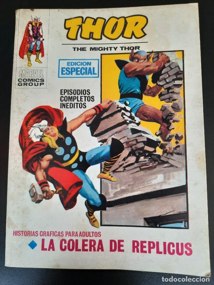THOR (1970, VERTICE) 7 · 1970 · LA COLERA DE REPLICUS (Tebeos y Comics - Vértice - Thor)