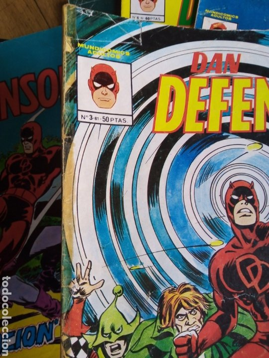 Cómics: Dan defensor colección completa 9 ejemplares. Mundicomics - Vértice - Foto 3 - 207492757