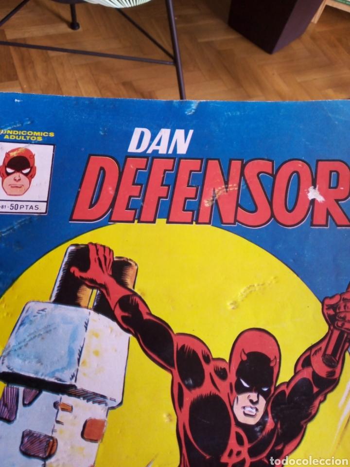 Cómics: Dan defensor colección completa 9 ejemplares. Mundicomics - Vértice - Foto 4 - 207492757