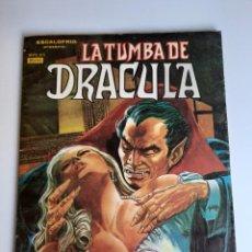 Cómics: DRACULA (1980, VERTICE) -LA TUMBA- 4 · VI-1980 · ANGELICA. Lote 207625611