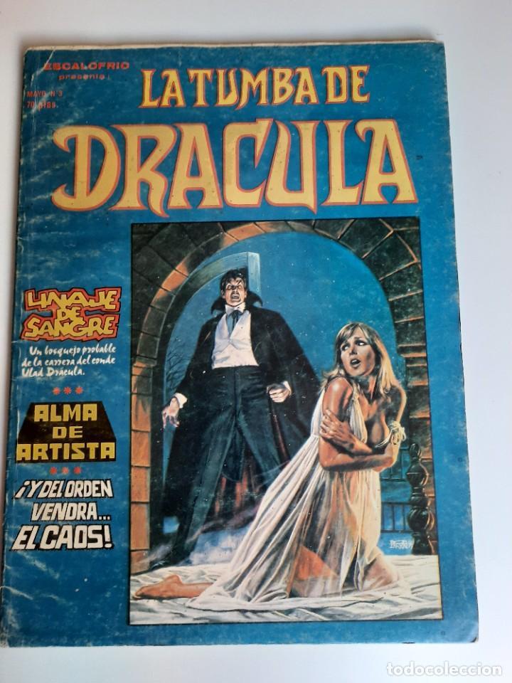 DRACULA (1980, VERTICE) -LA TUMBA- 3 · V-1980 · ALMA DE ARTISTA (Tebeos y Comics - Vértice - Terror)