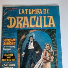 Cómics: DRACULA (1980, VERTICE) -LA TUMBA- 3 · V-1980 · ALMA DE ARTISTA. Lote 207625815