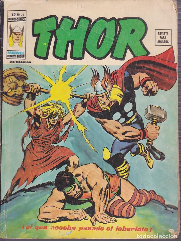 COMIC COLECCION THOR VOL.2 Nº 21 (Tebeos y Comics - Vértice - Thor)