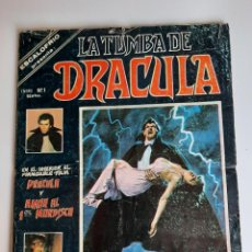 Cómics: DRACULA (1980, VERTICE) -LA TUMBA- 1 · I-1980 · GENESIS NEGRO. Lote 207730322