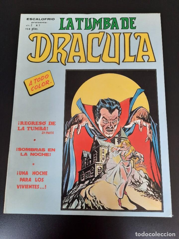 DRACULA (1981, VERTICE) -LA TUMBA- 7 · I-1982 · REGRESO DE LA TUMBA (Tebeos y Comics - Vértice - Terror)