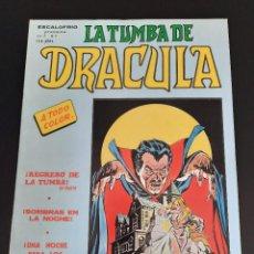 Cómics: DRACULA (1981, VERTICE) -LA TUMBA- 7 · I-1982 · REGRESO DE LA TUMBA. Lote 207730998