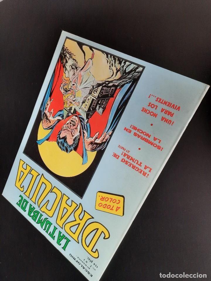 Cómics: DRACULA (1981, VERTICE) -LA TUMBA- 7 · I-1982 · REGRESO DE LA TUMBA - Foto 3 - 207730998