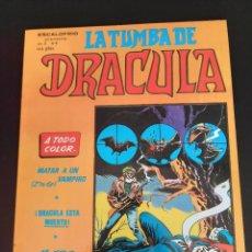Cómics: DRACULA (1981, VERTICE) -LA TUMBA- 6 · XII-1981 · MATAR A UN VAMPIRO. Lote 207731128