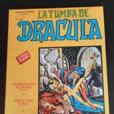 Cómics: DRACULA (1981, VERTICE) -LA TUMBA- 4 · V-1981 · LOS ARRASTRADORES DEL INFIERNO. Lote 207731307