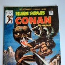 Cómics: RELATOS SALVAJES (1974, VERTICE) 74 · 28-II-1980 · EL CUBIL DEL GUSANO DE HIELO. Lote 207745758