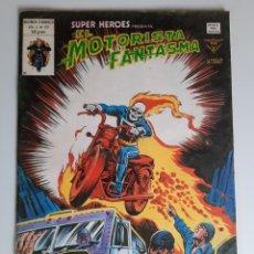 Comics : SUPER HEROES (1974, VERTICE) 125 · 1976 · EL MOTORISTA FANTASMA. EL TREN DE CARGA HACIA EL OLVIDO. Lote 207781327