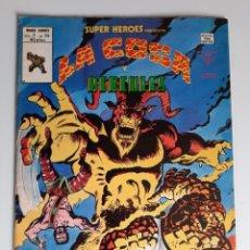 Cómics: SUPER HEROES (1974, VERTICE) 114 · 1976 · LA COSA Y HERCULES. EL MARAVILLOSO MUNDO DEL HERMANO BENJA. Lote 207781466